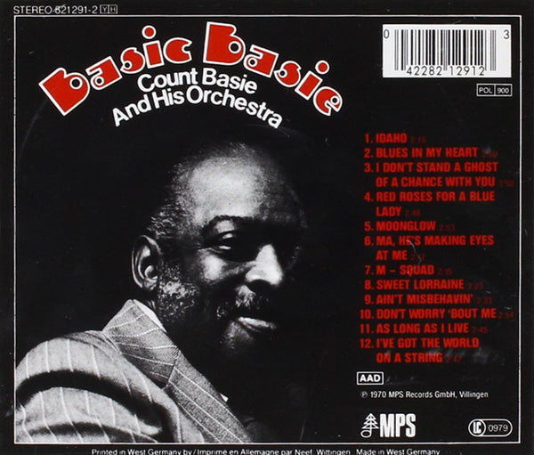 Count Basie and His Orchestra - Basic Basie-CDs-Palm Beach Bookery