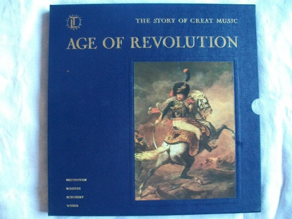 STL 143 VARIOUS ARTISTS Age of Revolution 4 LP box set classical-Classical-Palm Beach Bookery