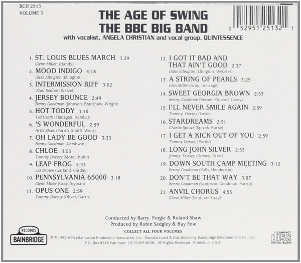 Various Artists - The Age of Swing Volume 3-CDs-Palm Beach Bookery