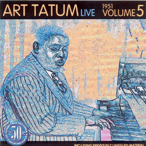 Art Tatum - Live 1951 5-CDs-Palm Beach Bookery