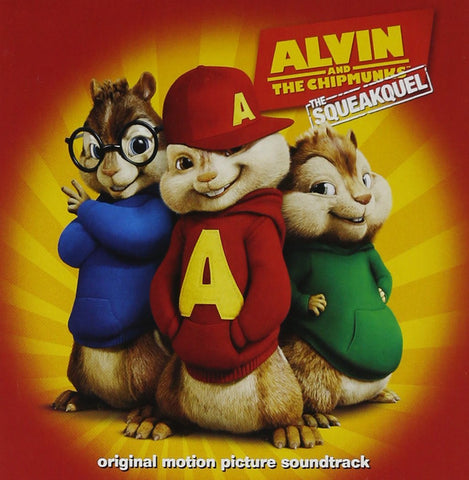 Alvin And The Chipmunks: The Squeakquel - Movie Soundtrack-CDs-Palm Beach Bookery