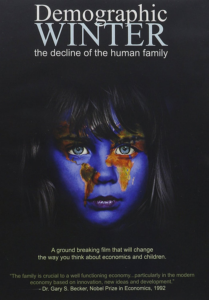 Demographic Winter : The decline of the human family-DVD-Palm Beach Bookery