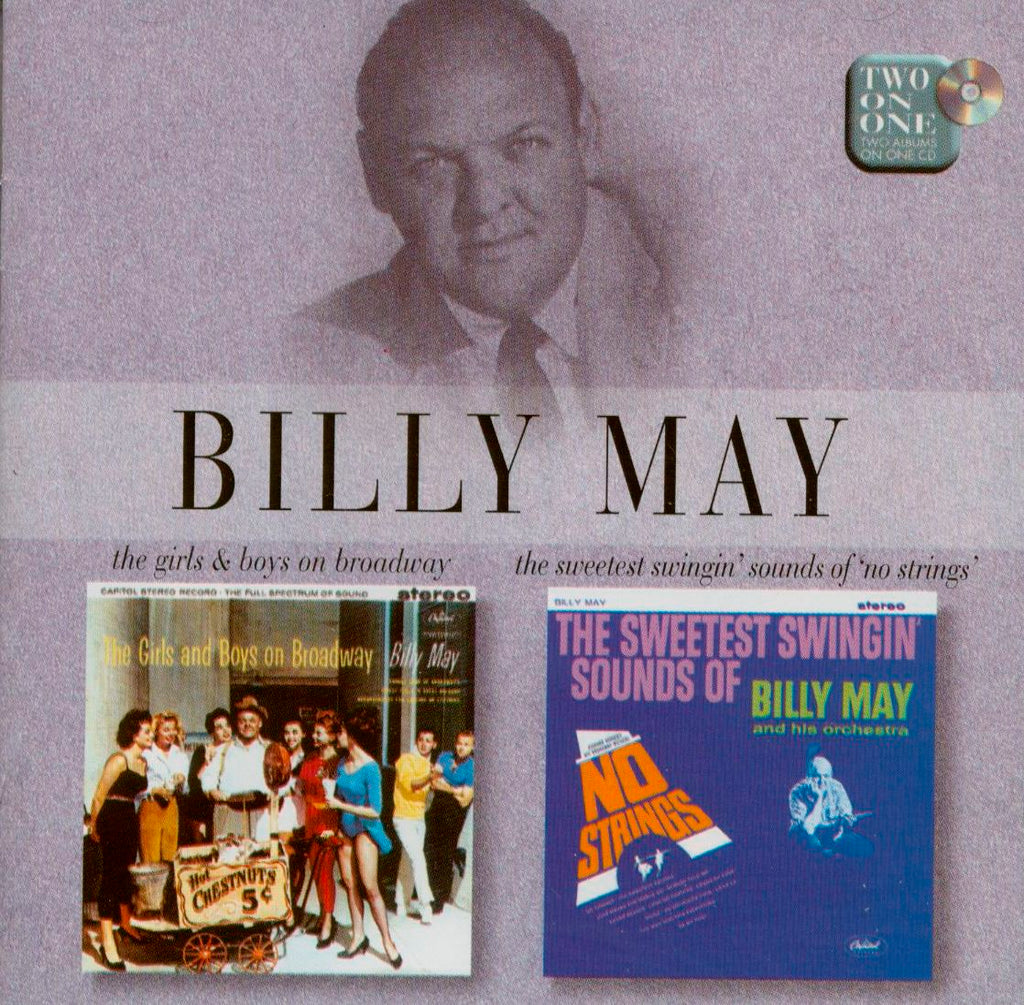 Billy May - Girls & Boys on Broadway / Sweetest Swinging Sounds of Billy May-CDs-Palm Beach Bookery