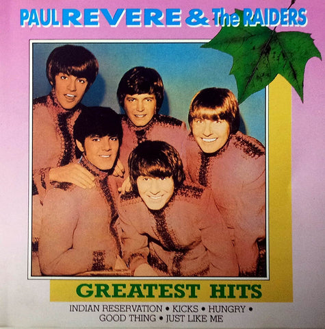 Paul Revere & Raiders - Greatest Hits-CDs-Palm Beach Bookery