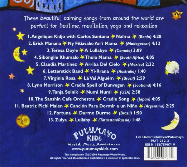 Putumayo Kids - Dreamland: World Lullabies & Soothing Songs-CDs-Palm Beach Bookery