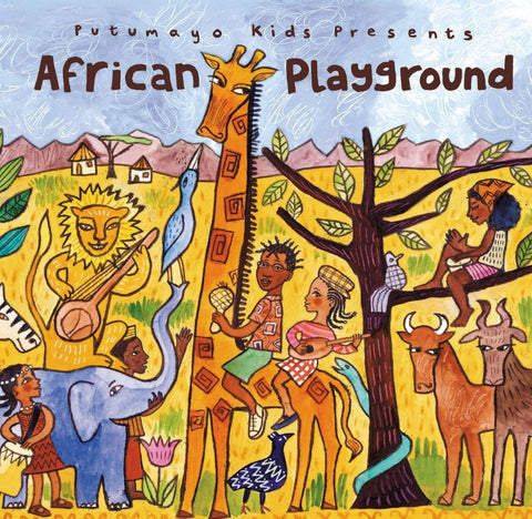 Putumayo Kids - African Playground-CDs-Palm Beach Bookery