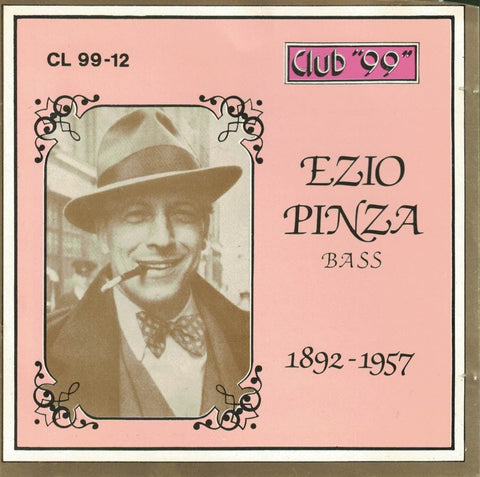 Ezio Pinza Bass 1892-1957 Club 99 (Italian)-CDs-Palm Beach Bookery