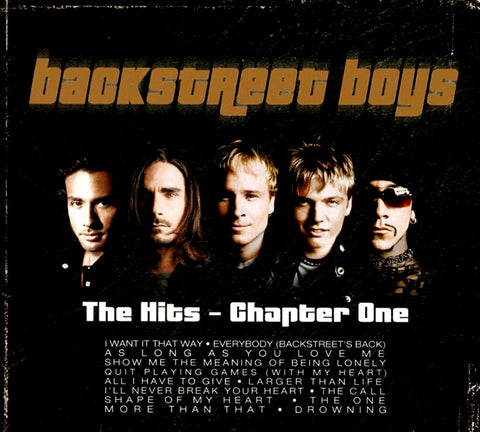Backstreet Boys - The Hits - Chapter One-CDs-Palm Beach Bookery