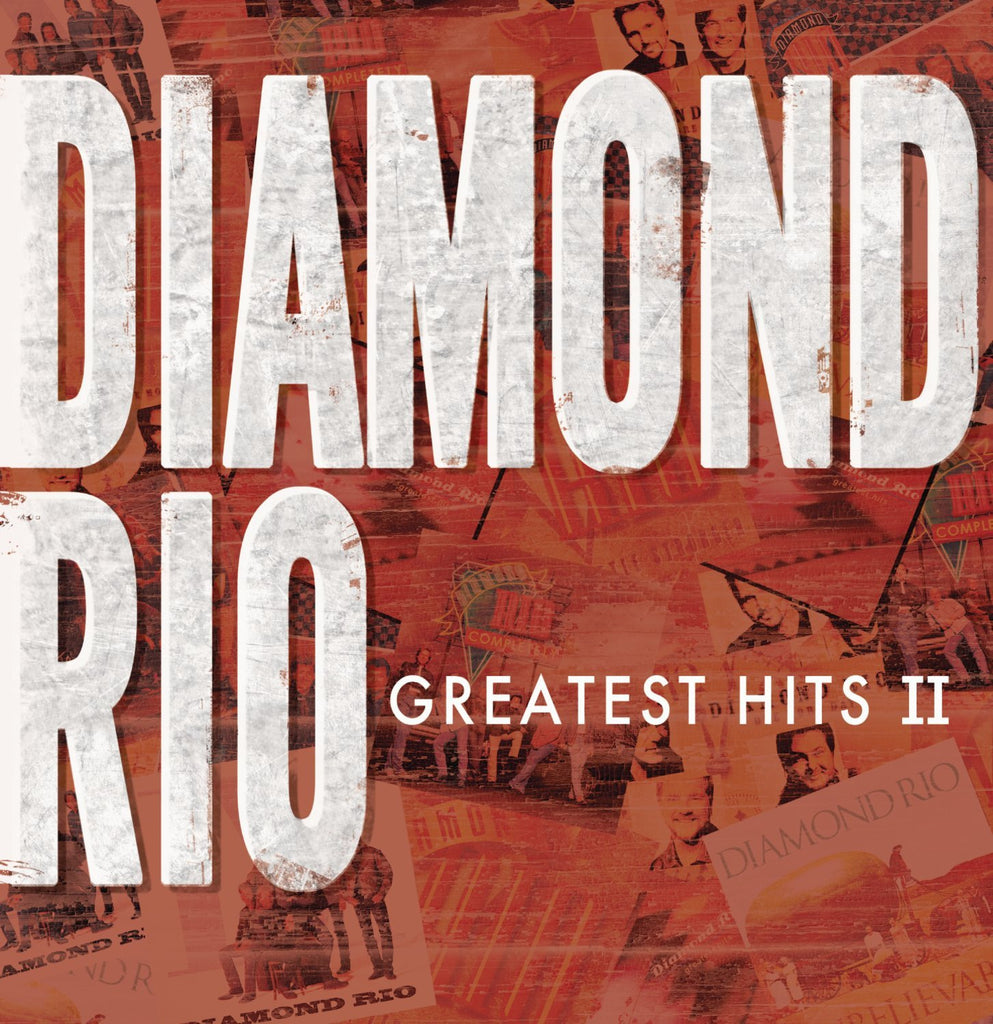 Diamond Rio - Greatest Hits II-CDs-Palm Beach Bookery
