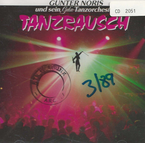 GUNTER NORIS-Die Tanzplatte Des Jahres '86-CD-Music-Palm Beach Bookery