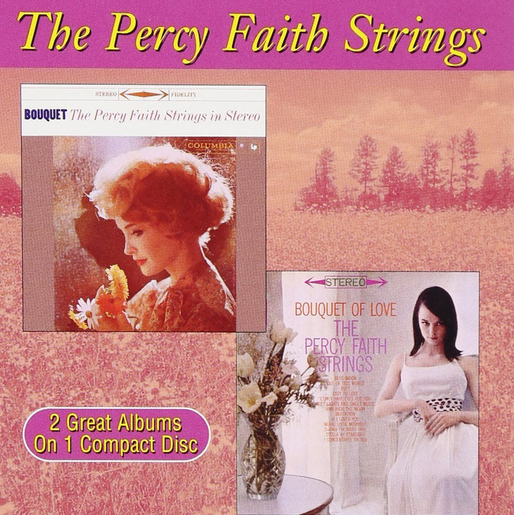 Percy Faith Strings - Bouquet / Bouquet of Love-CDs-Palm Beach Bookery