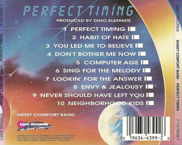 Sweet Comfort Band - Perfect Timing-CDs-Palm Beach Bookery