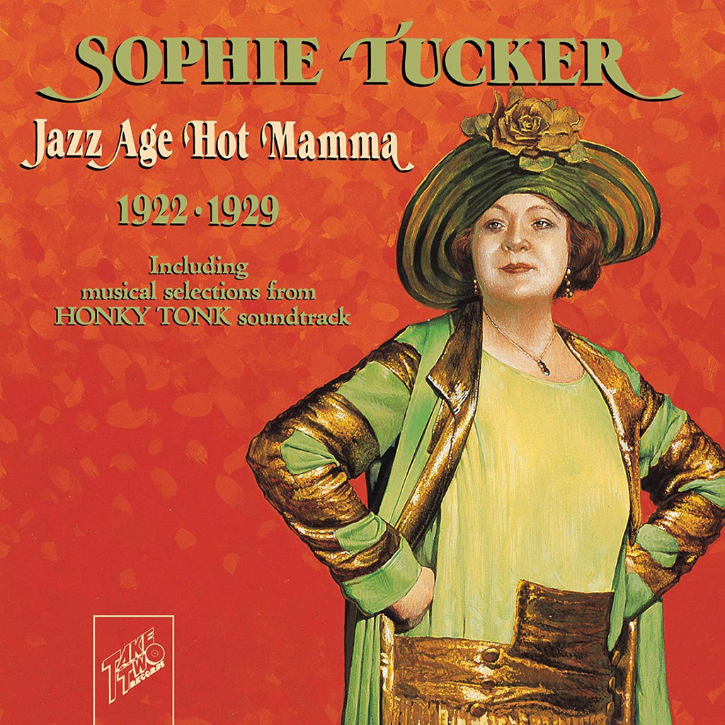 Sophie Tucker - Jazz Age Hot Mamma 1922-1929-CDs-Palm Beach Bookery
