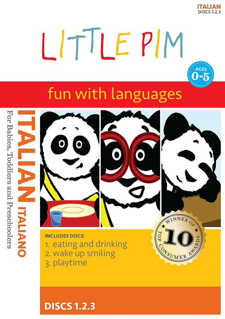 LITTLE PIM Fun With Linguistics - Learn Italian Volume I-DVDs & Blu-ray Discs-Palm Beach Bookery