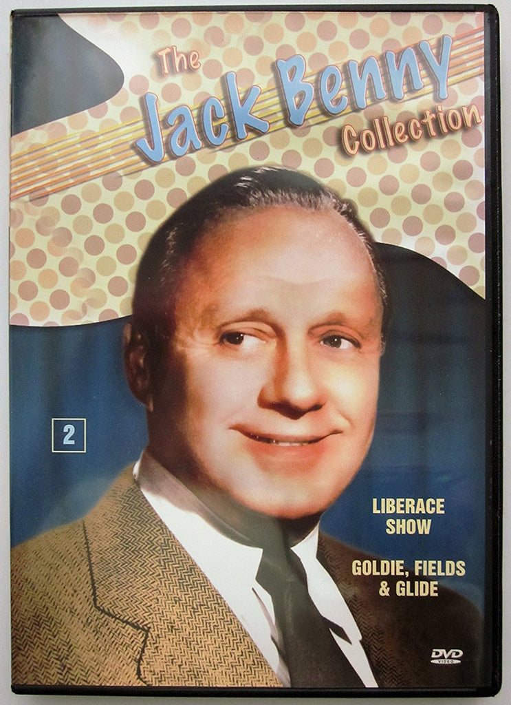 The Jack Benny Collection Vol. 2: Liberace Show, Goldie, Fields & Glide-DVD-Palm Beach Bookery