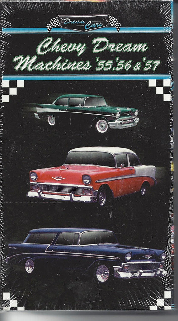 "Chevy Dream Machines ""55, ""56 & ""57-VHS Tapes-Palm Beach Bookery"