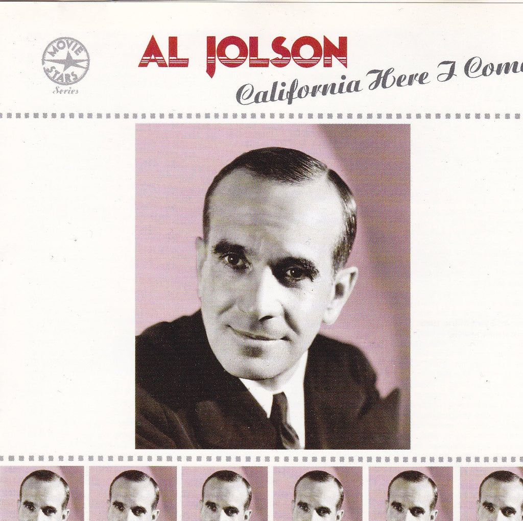 Al Jolson - California Here I Come-CDs-Palm Beach Bookery