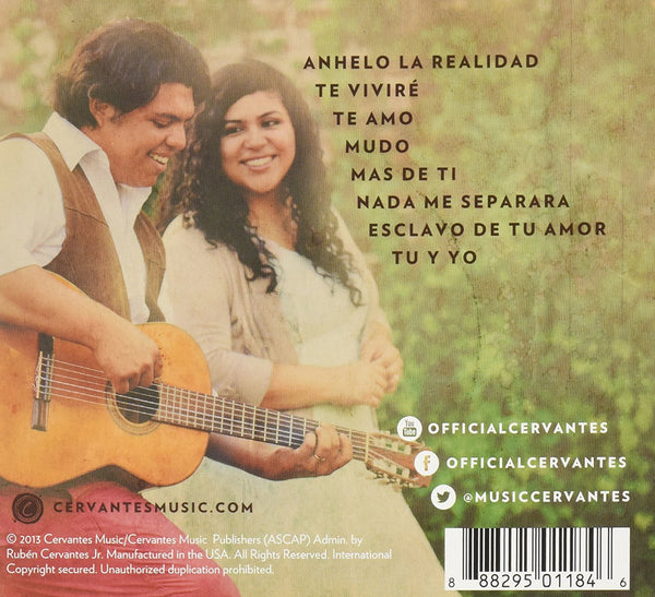 Cervates - Esclavo de Tu Amor (Spanish)-CDs-Palm Beach Bookery