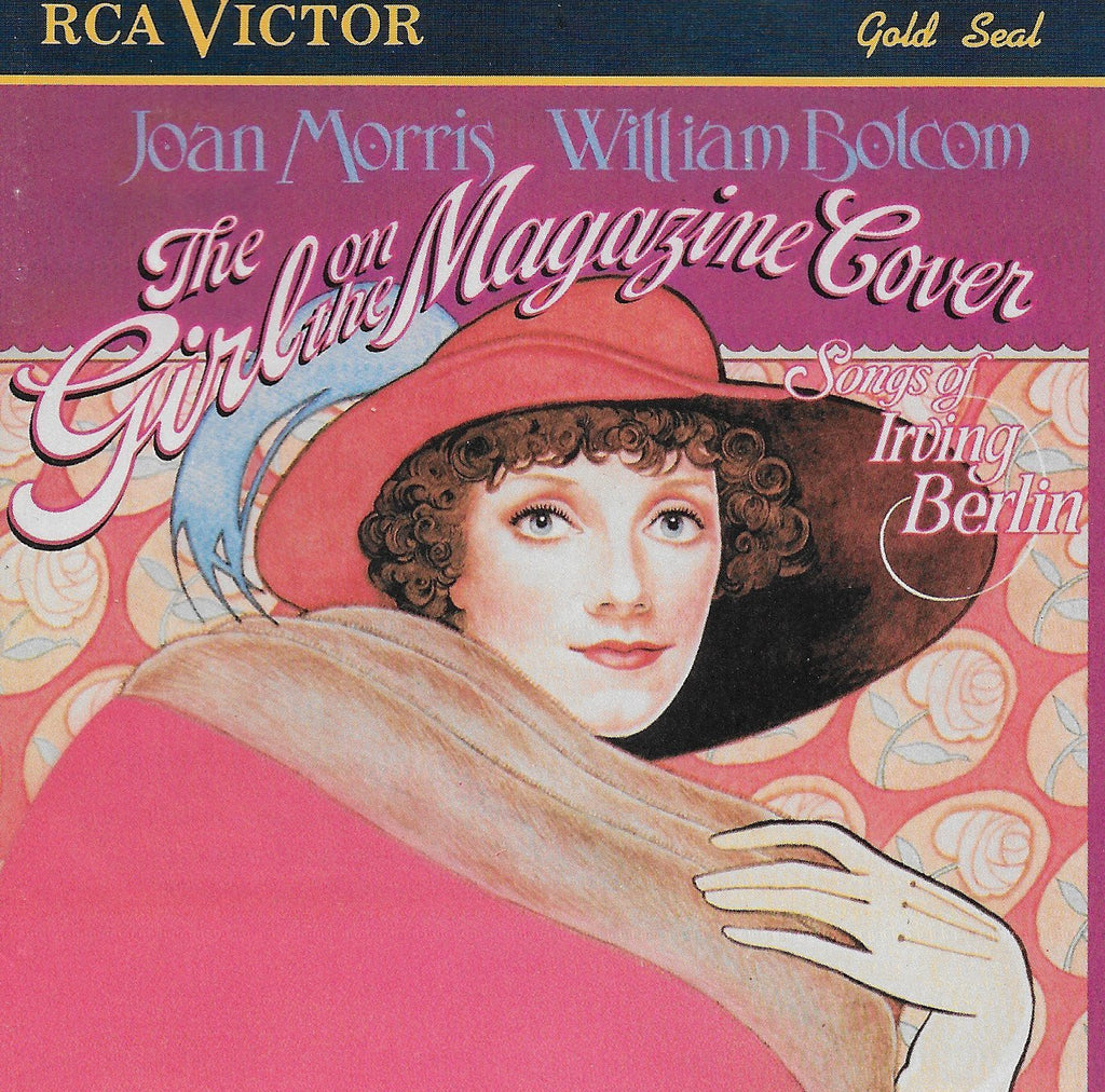 Joan Morris & William Bolcom - Girl on the Magazine Cover: Songs of Berlin-CDs-Palm Beach Bookery