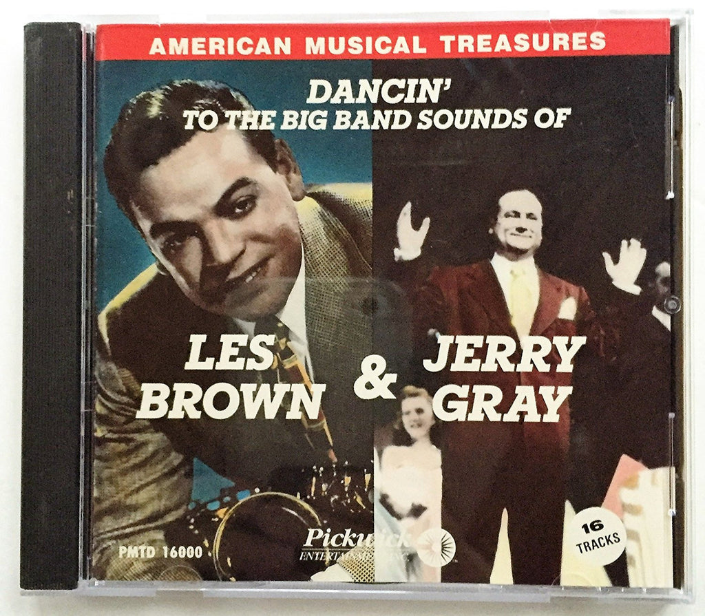 Les Brown & Jerry Gray - Dancin' to the Big Band Sounds of Les Brown & Jerry Gray-CDs-Palm Beach Bookery