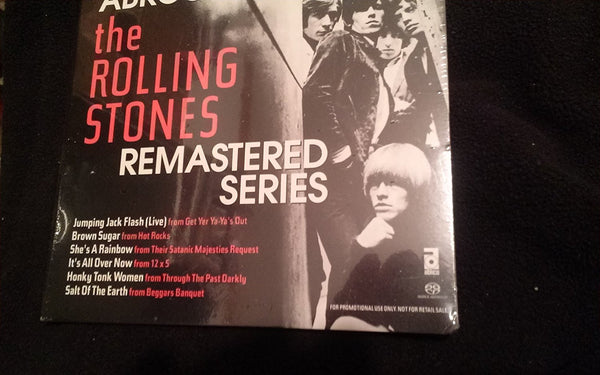 Rolling Stones - Rolling Stones Remastered Series SACD Sampler-CDs-Palm Beach Bookery