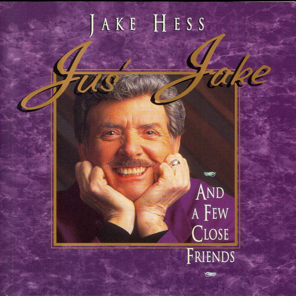 Jake Hess - Jus' Jake and a Few Close Friends-CDs-Palm Beach Bookery
