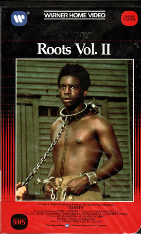 Roots (VHS) Vol. I Vol. 2, Vol. 4, Vol 5-VHS Tapes-Palm Beach Bookery