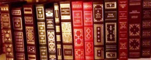 Lot of 14 Franklin Library Books Leather-Like (Faux) Binding, Gilt Edged-Books-Palm Beach Bookery