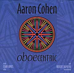 Aaron Cohen - Oboecentric-CDs-Palm Beach Bookery
