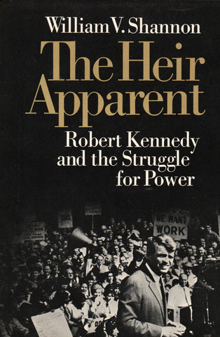 The Heir Apparent By: William V. Shannon-Book-Palm Beach Bookery