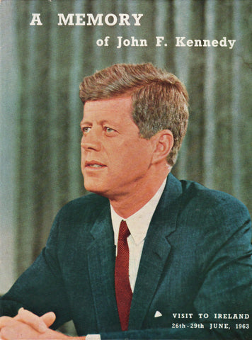 A Memory of John F. Kennedy - Visit To Ireland 26th - 29th June 1963-Books-Palm Beach Bookery