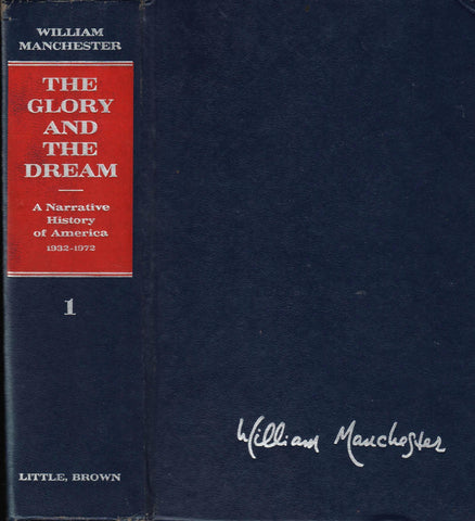THE GLORY AND THE DREAM Vol. 1 By: William Manchester-Book-Palm Beach Bookery