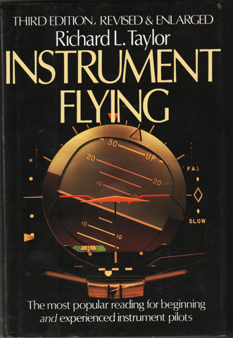 INSTRUMENT FLYING By: Richard L. Taylor-Book-Palm Beach Bookery