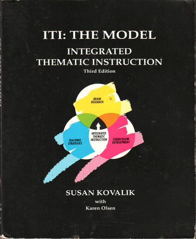 ITI: THE MODEL - INTEGRATED THEMATIC INSTRUCTION By: Susan Kovalik with Karen Olsen-Books-Palm Beach Bookery