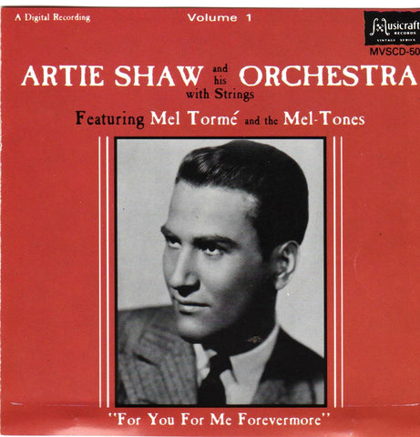 Artie Shaw - Volume 1 Featuring Mel Torme (For You, For Me, Forevermore)-CDs-Palm Beach Bookery