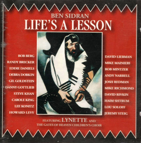 Ben Sidran - Life's A Lesson-CDs-Palm Beach Bookery
