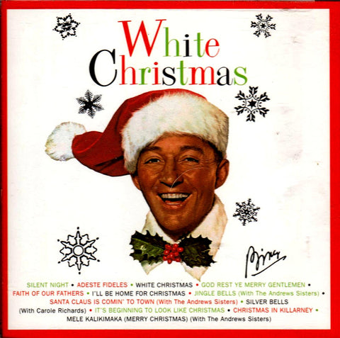 Bing Crosby - White Christmas-CDs-Palm Beach Bookery