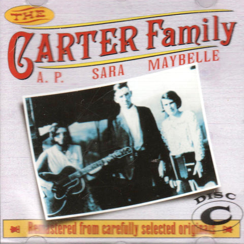 Carter Family - The Carter Family 1927 - 1934 Disc C-CDs-Palm Beach Bookery