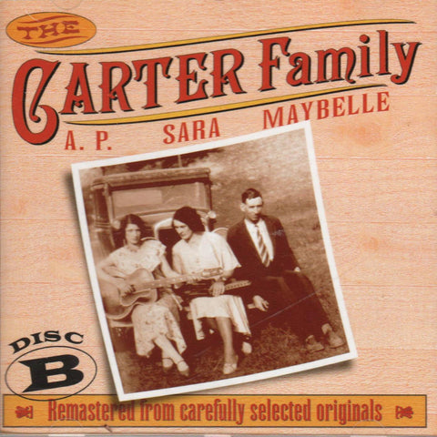 Carter Family - The Carter Family 1927 - 1934 Disc B-CDs-Palm Beach Bookery