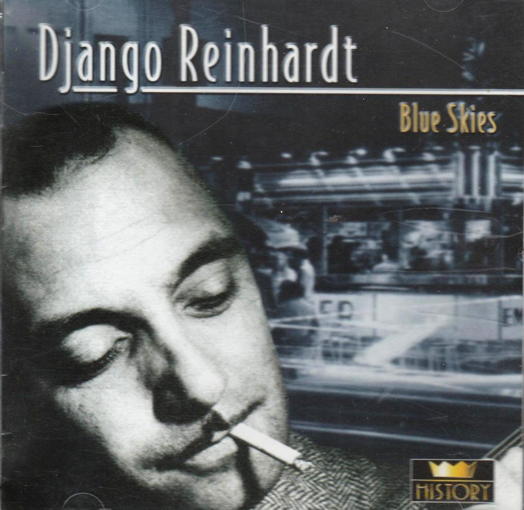 Django Reinhardt - Blue skies (20 tracks)-CDs-Palm Beach Bookery