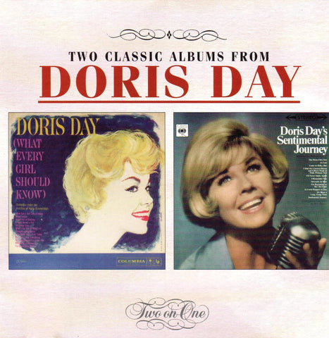 Doris Day - What Every Girl Should Know / Sentimental Journey-CDs-Palm Beach Bookery