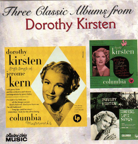Dorothy Kirsten - Three Classic Albums From Dorothy Kirsten-CDs-Palm Beach Bookery
