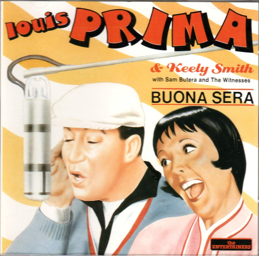 Louis Prima and Keely Smith - Buona Sera-CD's-Palm Beach Bookery