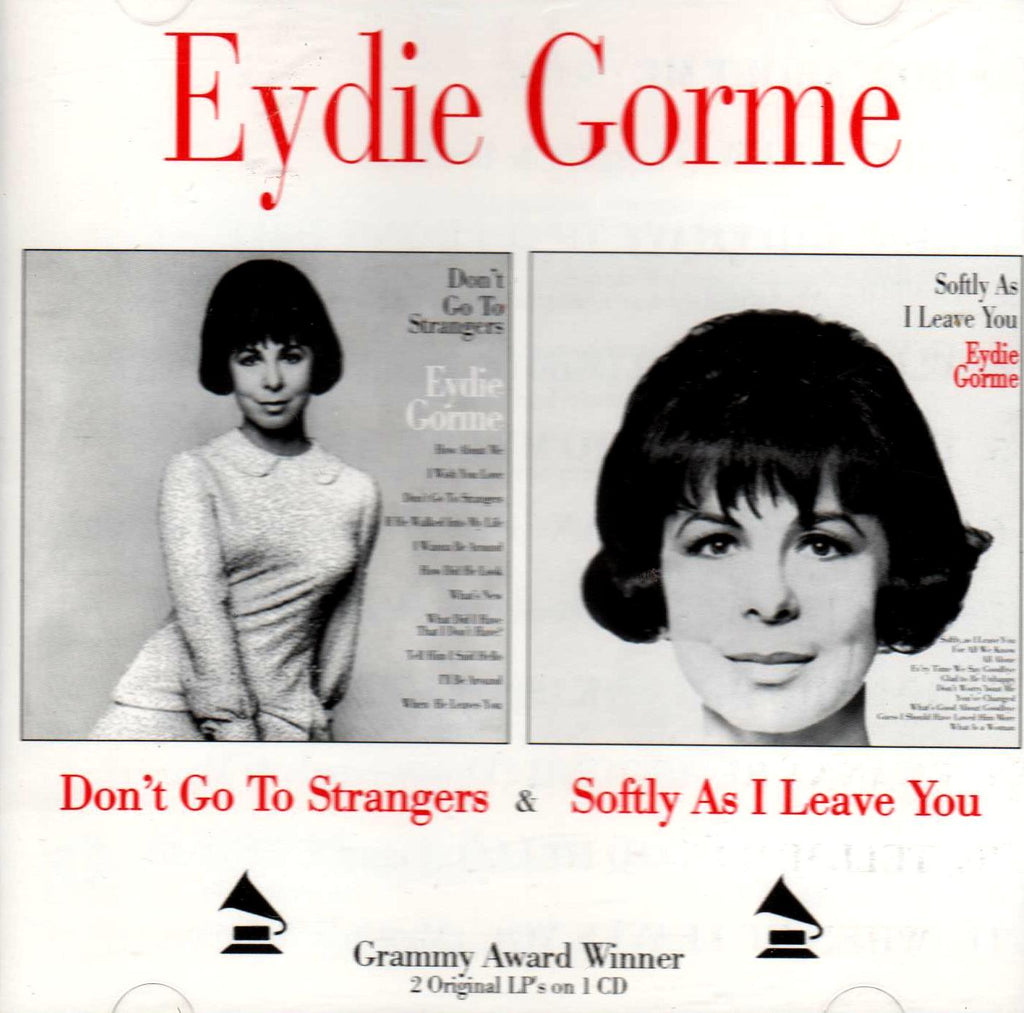 Eydie Gorme - Don't Go to Strangers / Softly As I Leave You-CDs-Palm Beach Bookery