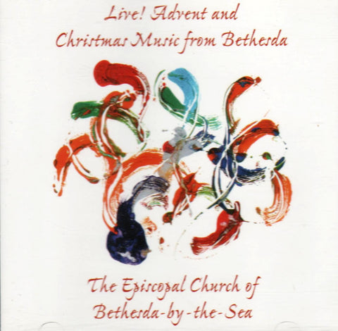 Episcopal Church of Bethesda By The Sea - Live! Advent and Christmas Music from Bethesda-CDs-Palm Beach Bookery