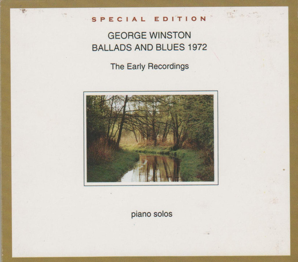 George Winston - Ballads & Blues 1972-CDs-Palm Beach Bookery
