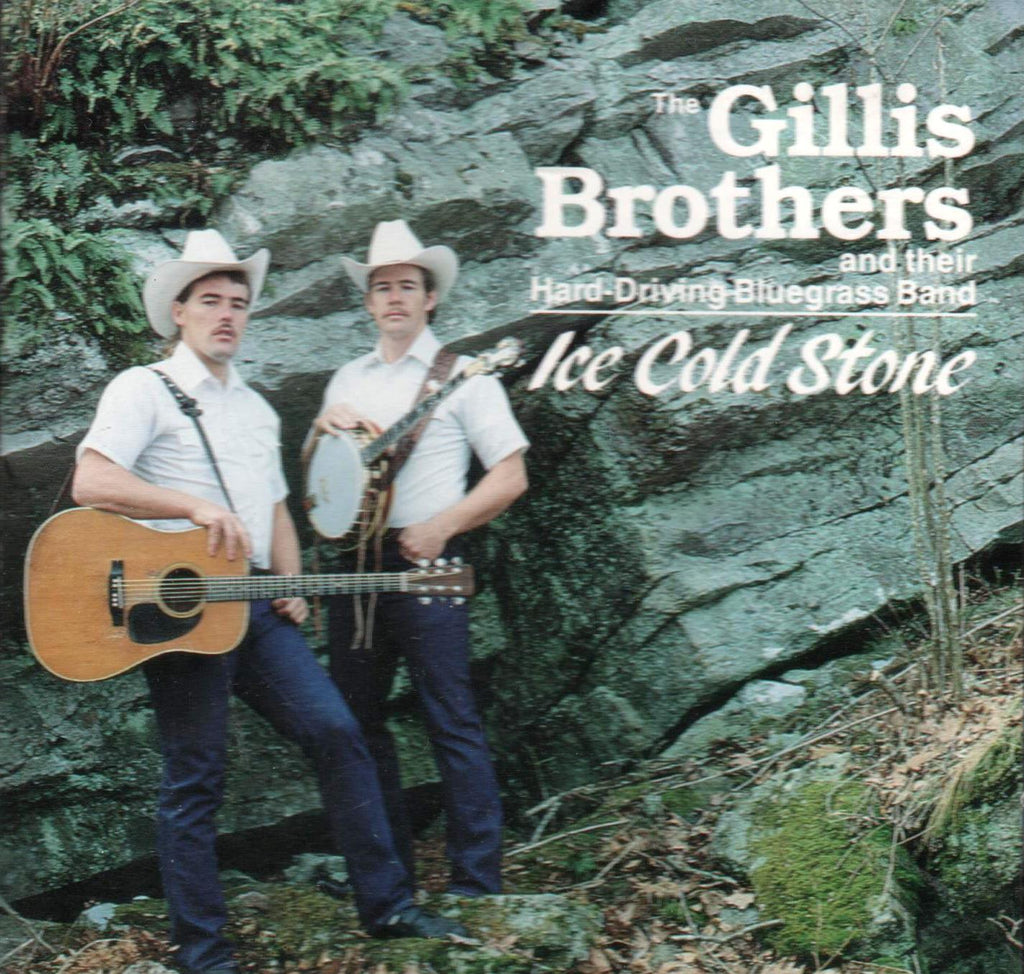 Gillis Brothers - Ice Cold Stone-CDs-Palm Beach Bookery