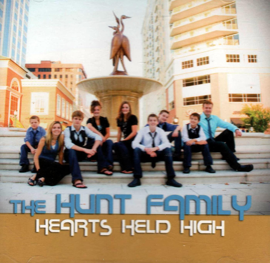The Hunt Family - Hearts Held High-CDs-Palm Beach Bookery