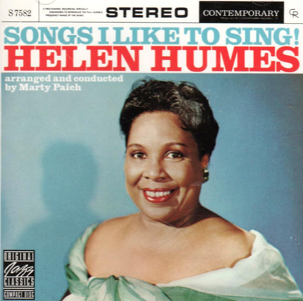 Helen Humes - Songs I Like to Sing-CDs-Palm Beach Bookery
