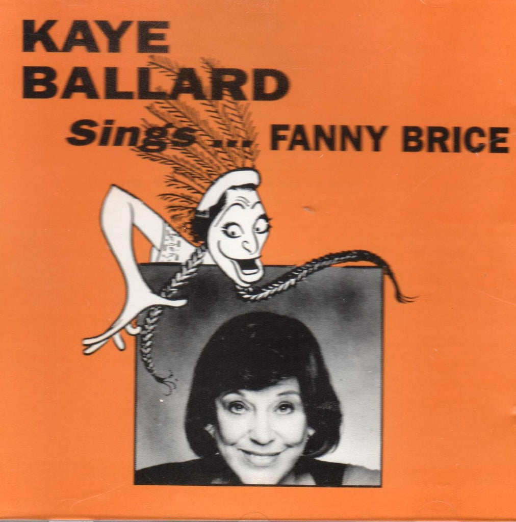 Kaye Ballard - Kaye Ballard Sings Fanny Brice-CDs-Palm Beach Bookery